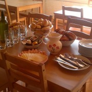 Hostel Bovec - Buffet breakfast