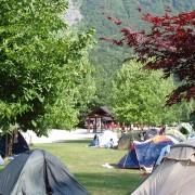 Camping near Bovec
