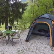 Camping at Vodenca