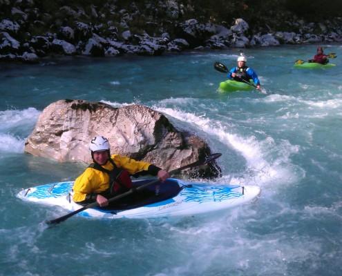 Kayaking - Soca river