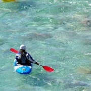 Kayaking - Soca river