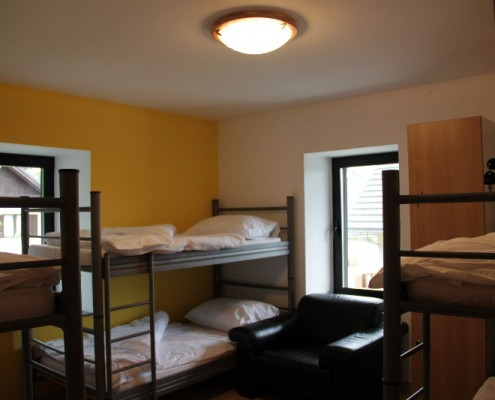 Hostel Bovec - quality dormitory rooms