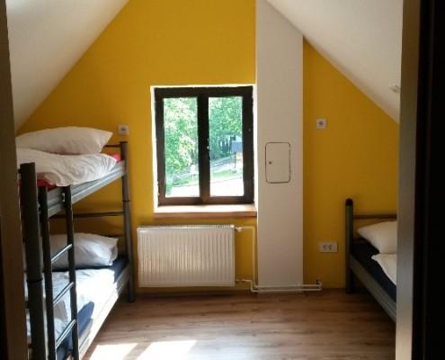Modern rooms at Hostel Bovec