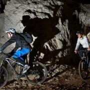 Underground biking - Mt Pec