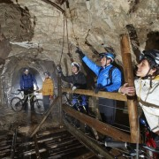 Mt Pec Lead Mine - Underground biking
