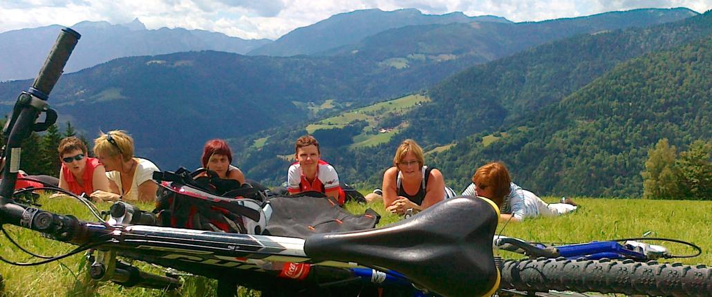 Biking day - Camp Menina