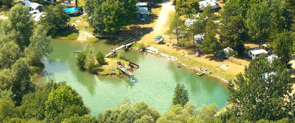Camp lake - Camp Menina