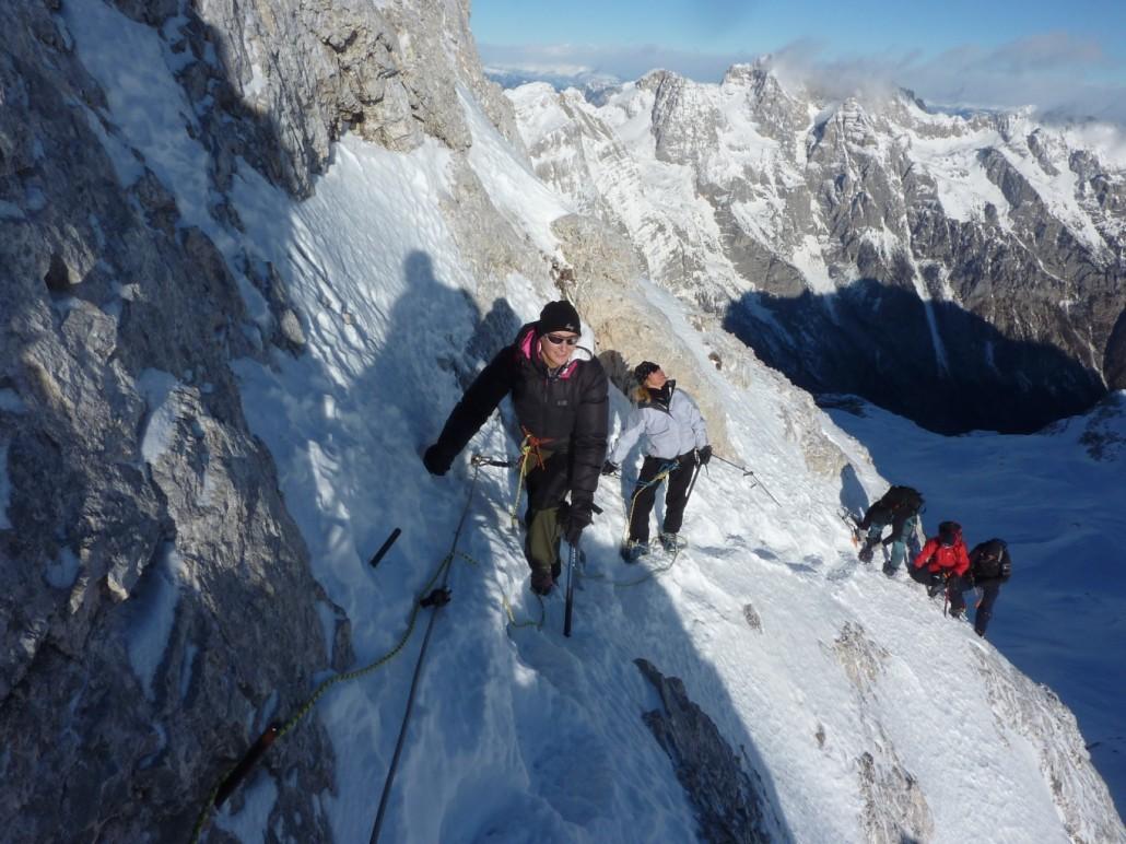 Triglav – Winter Ascent Climb the highest peak in Slovenia ...
